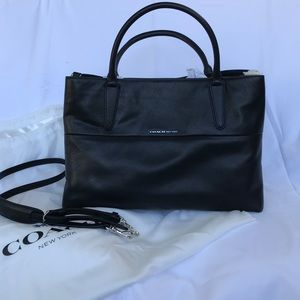 Discontinued Leather Coach New York Borough Bag